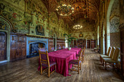 Banquet Prints - Cardiff Castle Dining Hall Print by Yhun Suarez