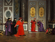 Henri Adolphe Laissement - Cardinals in the Hall of...