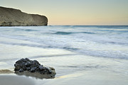 Almeria Prints - Caresses by the sea Print by Guido Montanes Castillo