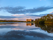 Celts Photo Posters - Carew Castle Pembrokeshire Wales Poster by Corinne Johnston