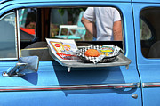 Carhop Framed Prints - Carhop Tray Framed Print by Paul Mashburn
