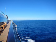 On Prints - Caribbean Cruise - On Board Ship - 121266 Print by DC Photographer