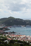 Caribbean Cruise - St Thomas - 1212201 Print by DC Photographer