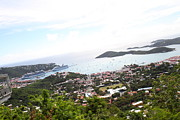 Saint Photo Framed Prints - Caribbean Cruise - St Thomas - 1212248 Framed Print by DC Photographer