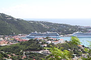 Thomas Photo Prints - Caribbean Cruise - St Thomas - 1212276 Print by DC Photographer