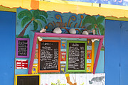 Menu Prints - Caribbean delight Print by Kurt Gustafson