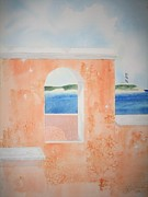 Bahamas Landscape Paintings - Caribbean Guard by Jeff Lucas