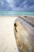 Aruba Prints - Caribbean Shipwreck Print by David Letts