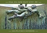 Leif Sodergren - Carl Milles Poseidon detail