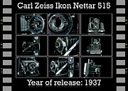 Ikon Prints - Carl Zeiss Ikon Nettar 515 set Print by Tommy Hammarsten
