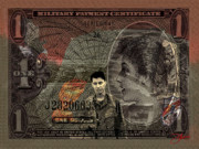Money Posters - Carlos Cash Warlords 117th Assault Helicopter Company Poster by Dancin Artworks