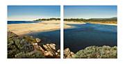 Carmel Lagoon Beach Print by Logan Parsons
