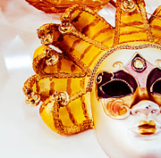 Handmade Jewelry Photo Posters - Carneval mask II. Poster by Slavica Koceva