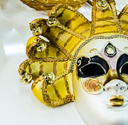 Handmade Jewelry Photo Posters - Carneval Mask III. Poster by Slavica Koceva