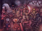 Klee Posters - Carnival in the Mountains Poster by Pg Reproductions