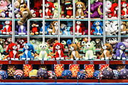 Animal Games Prints - Carnival Prizes Print by John Greim