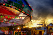 New Hampshire - Carnival Ride - Carousel by Joann Vitali