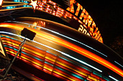 Rotate Prints - Carnival Rides 2 in Grants Pass Print by Mick Anderson