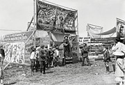 Freak Show Prints - Carny Midway 1915 Print by Daniel Hagerman