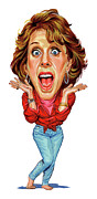 Carol Burnett Print by Art