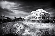 Old School House Prints - Carolina Beach House Print by John Rizzuto