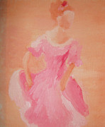 Ballroom Paintings - Caroline by Julie Thorniley
