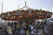 Luna Park Art - Carousel 2013 - Coney Island - Brooklyn - New York by Madeline Ellis