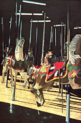 Merry-go-round Prints - Carousel Print by Anthony Butera
