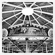 Abstract Photos - Carousel At Brookfield Zoo by Adam Romanowicz