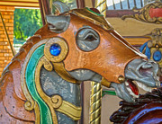 Carousel Horse - 04 Print by Gregory Dyer
