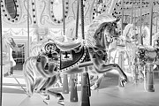 Carrousels Prints - CAROUSEL in NEGATIVE 2 Print by Rob Hans