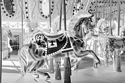 Carrousels Prints - CAROUSEL in NEGATIVE 3 Print by Rob Hans