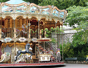 Ann Horn Photos - Carousel in Paris by Ann Horn