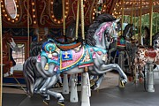 Carrousels Prints - Carousel Print by Rob Hans