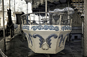 Provence Photos - Carousel Tea Cup by John Rizzuto