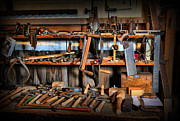 Work Bench Prints - Carpenter - The Workmans Bench Print by Lee Dos Santos