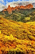 Aspens Metal Prints - Carpeted in Autumn Splendor Metal Print by Jeff Kolker