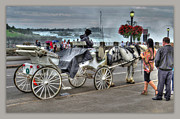 Niagara Carriage Prints - Carriage Ride Print by Cindy Haggerty