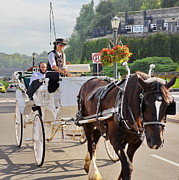 Niagara Carriage Prints - Carriage ride down River Road Print by Simply  Photos