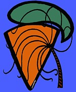 Pop Greeting Cards Mixed Media - Carrot And Stick by Patrick J Murphy