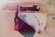 Collector Cars Mixed Media Posters - Cars Poster by Dennis Buckman