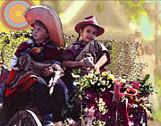 Alice Ramirez Art - Cart Boys by Alice Ramirez