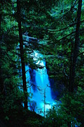 Water Falls Photos - Carter Falls by Jeff  Swan