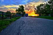 Tageslicht Posters - Carter Farm at Sunset HDR Poster by Sabine Jacobs