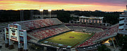 Espn Prints - Carter-Finley Stadium Print by Daniel Holladay