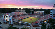 Espn Photo Prints - Carter-Finley Stadium Print by Elevated Perspectives LLC