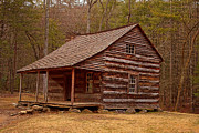 Log Cabin Art Photos - Carter Shields Cabin 3 by Wild Expressions Photography