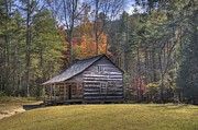 Carter-shields Cabin Print by Crystal Nederman