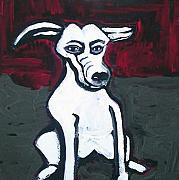 Tablou Art - Cartoon Dog by Amy Marie Adams