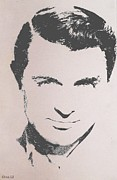 Acting Paintings - Cary Grant by Cherise Foster